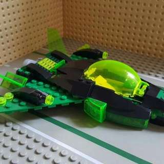 Lego Green Lantern's Jet