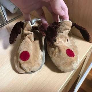 英國手工鞋 Funky Feet Fashions -聖誕麋鹿