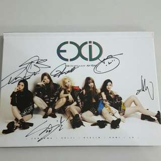 [RARE/LIMITED] EXID - Ah Yeah (Autographed By All Members)