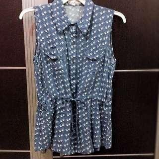Gaudi sleeveless shirt