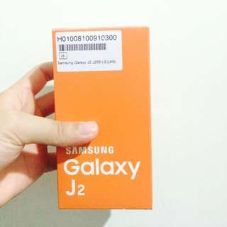 Samsung J2 2016 全新 白色