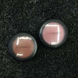 Mac Prolongwear Blush - Eternal Sun // Mac Powder Blush - Dame