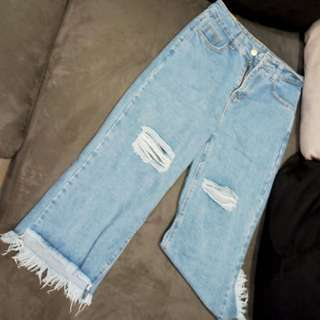 (NEW) Ripped Jeans