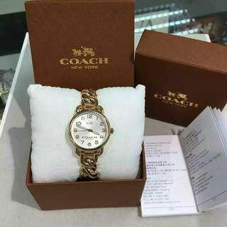 🇺🇸COACH 石英女裝鏈錶