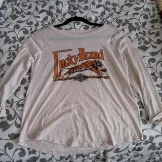 Lucky Brand Mid Sleeve Shirt
