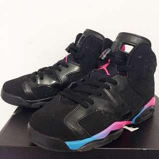Jordan六代 黑彩虹 6.5Y