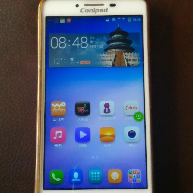 酷派4G大陸版,雙卡手機 Coolpad K1,4G,2sim card …