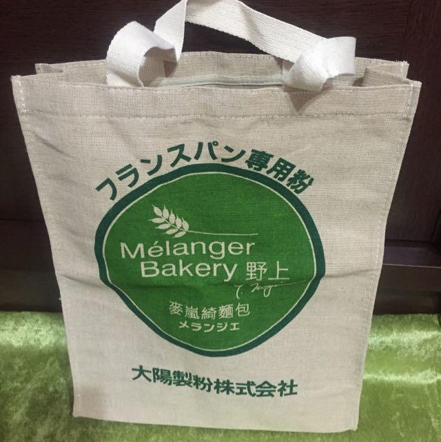老闆不賣了便宜出清-麥嵐綺麵包店環保袋