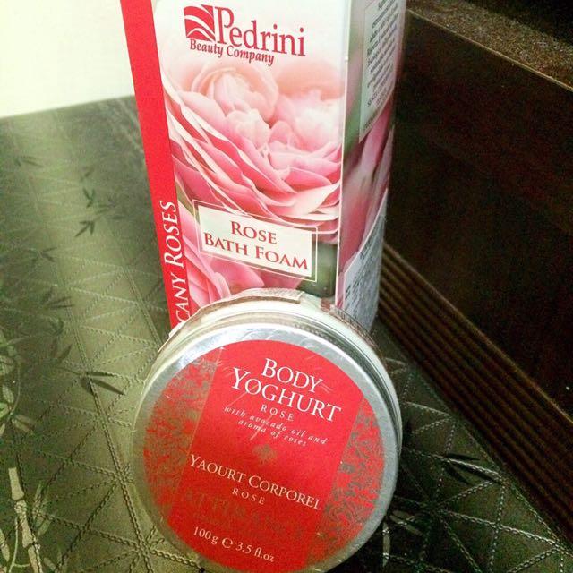 大馬士革玫瑰嬌沐浴乳&優格霜