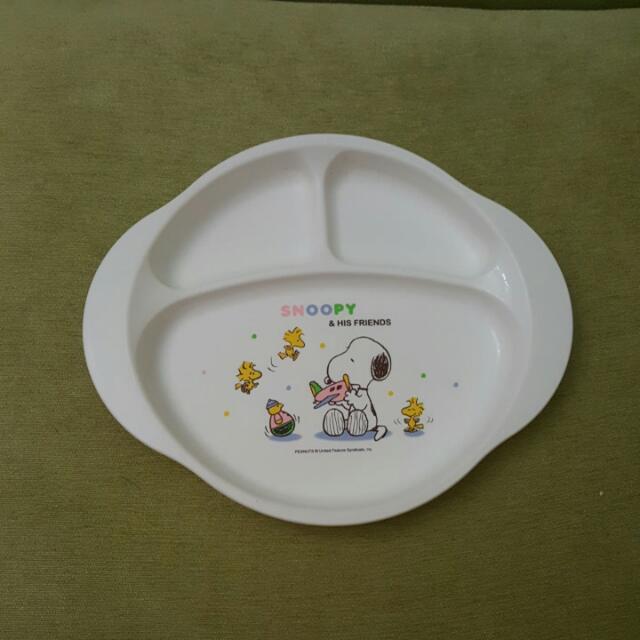 史努比餐盤