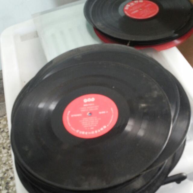 古董 黑膠唱片