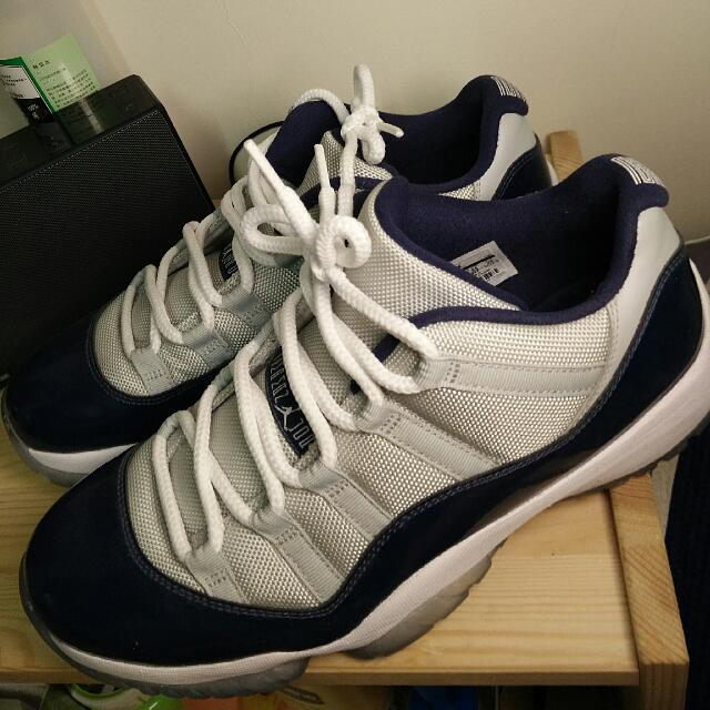 "Air Jordan 11 Low ""Georgetown""喬治城配色"