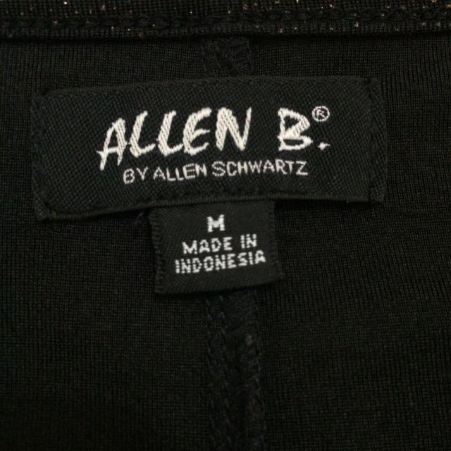 Allen B. by Allen Schwartz Black Shimmery Top