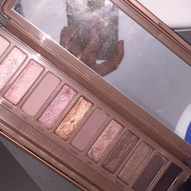 Auth Naked 3 palette
