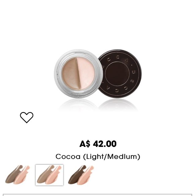 "Becca Brow Mousse In ""cocoa"""