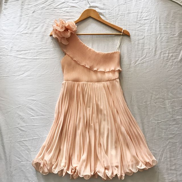 Blush Pink Semi-Formal Dress