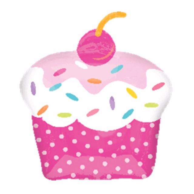 BN Cupcake Foil balloon