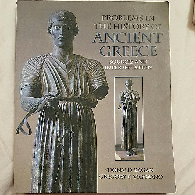 Book - Problems In The History Of Ancient Greece: Sources And Interpretations. By: Donald Kagan And Gregory F. Viggiano 2010