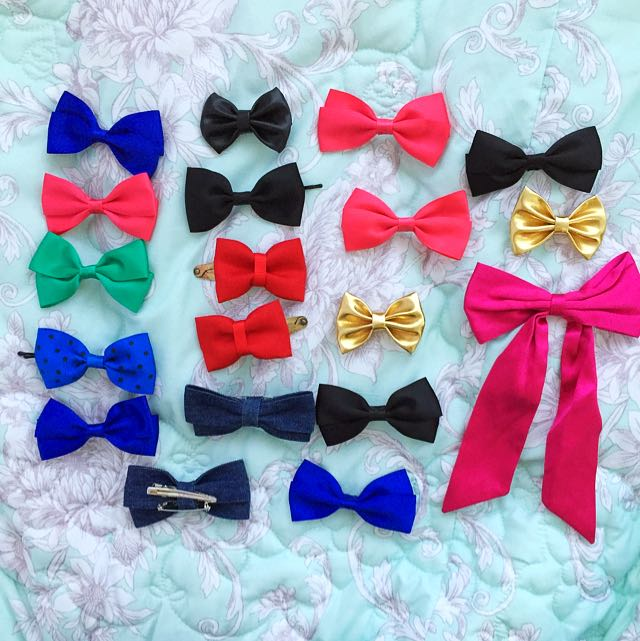 Bows And Ribbon Hair/ Clothing Clips 🎀