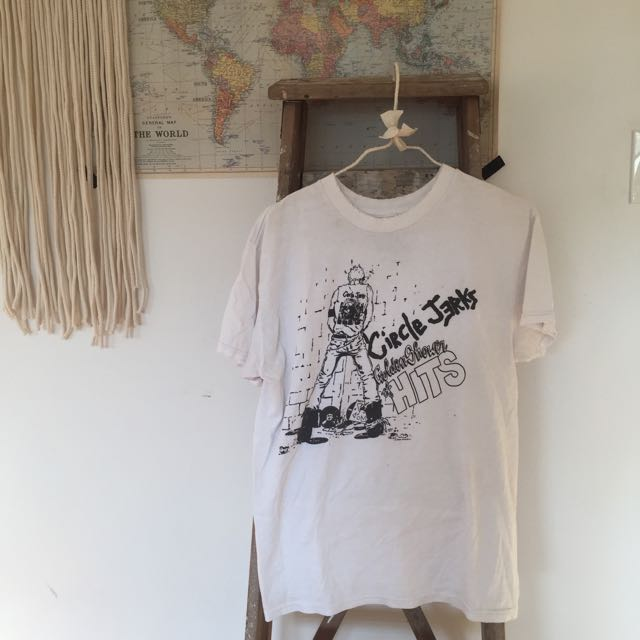 Brandy Melville Circle Jerks T Shirt