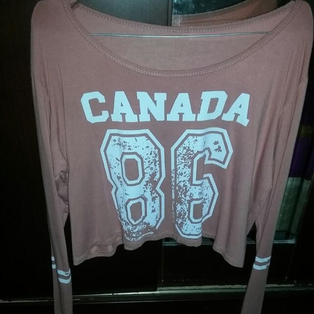 Canada Blouse Crop