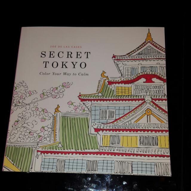 Coloring book - Secret Tokyo