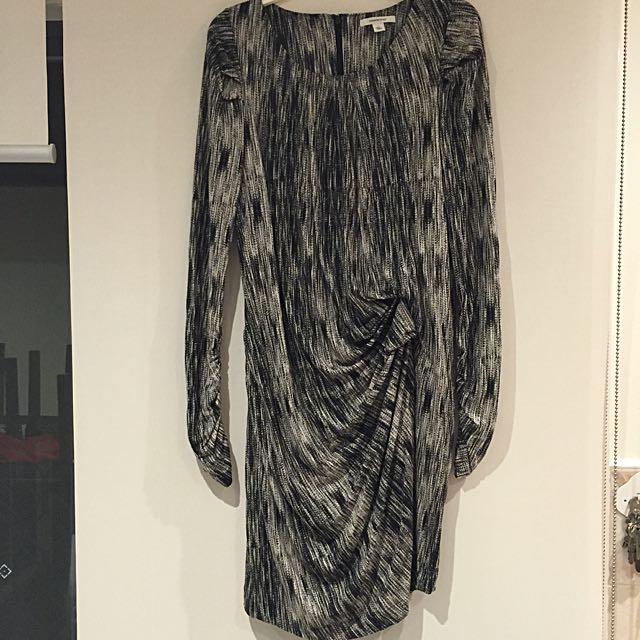 ⭐️⭐️⭐️COUNTRY ROAD  Mock wrap Jersey Dress size L