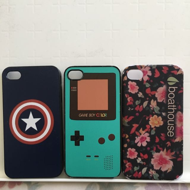 Cute iPhone 4/4s Hard Plastic Cases
