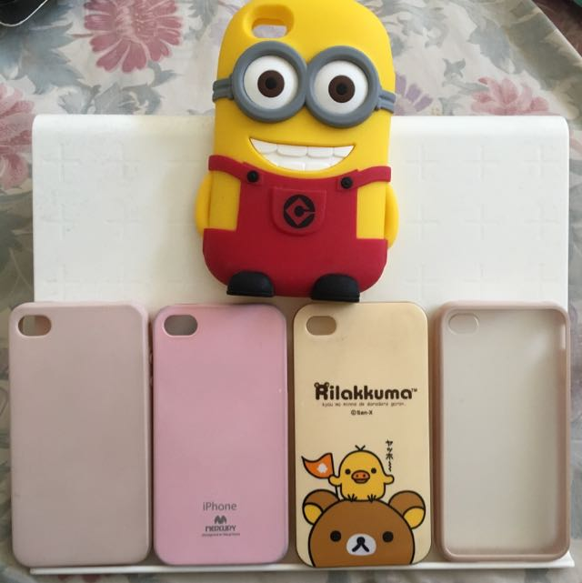 Cute iPhone 4s & 4 Rubber Silicone Cases