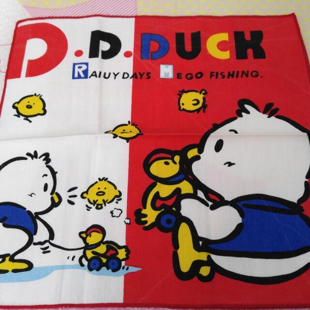 D. D. Duck 手拍 + 擦膠