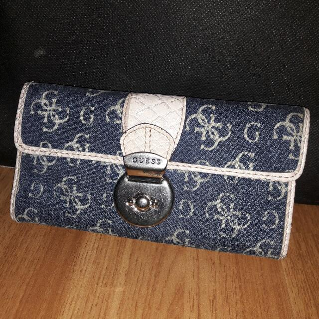 Dompet Jeans Guess