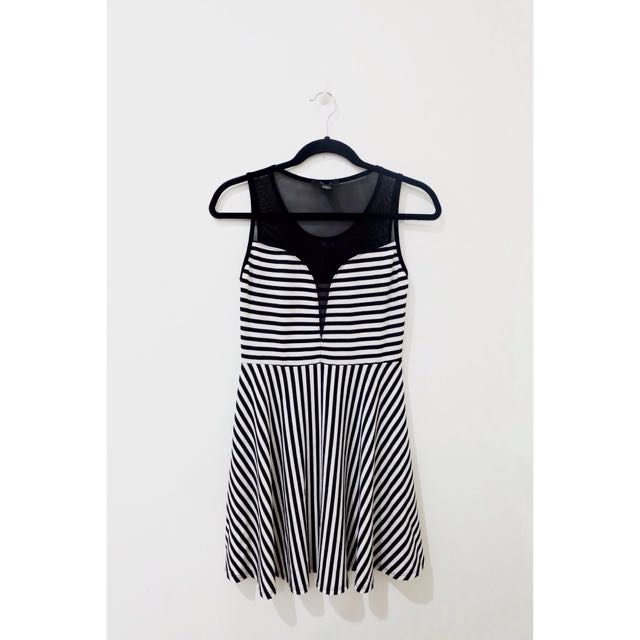F21 Dress With Mesh