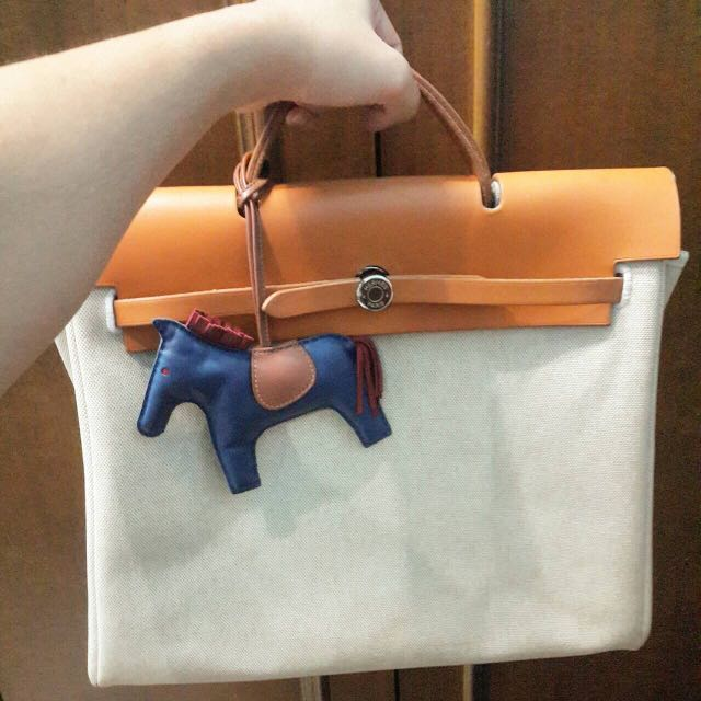 REPRICE HERMES BAG ORI 39 natural