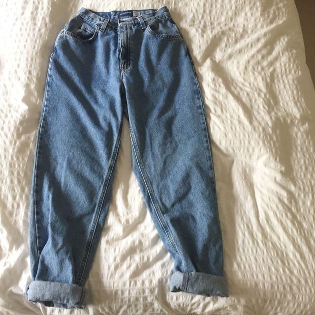 High Waisted Mom's Jeans