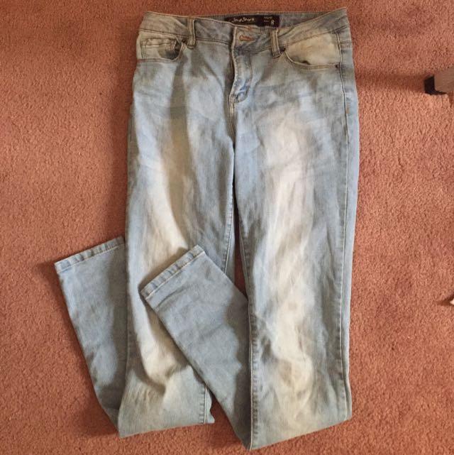 Jay Jay's Size 8 Denim Skinny Jeans