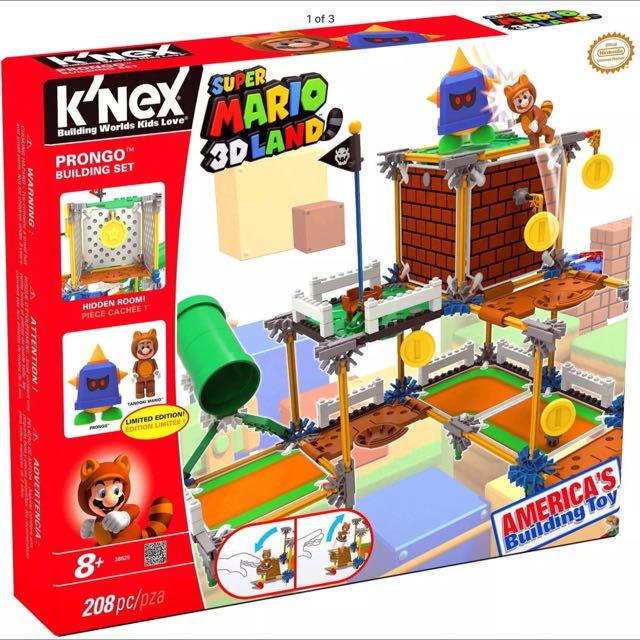 K'nex 3D Land Super Mario Pronto Set