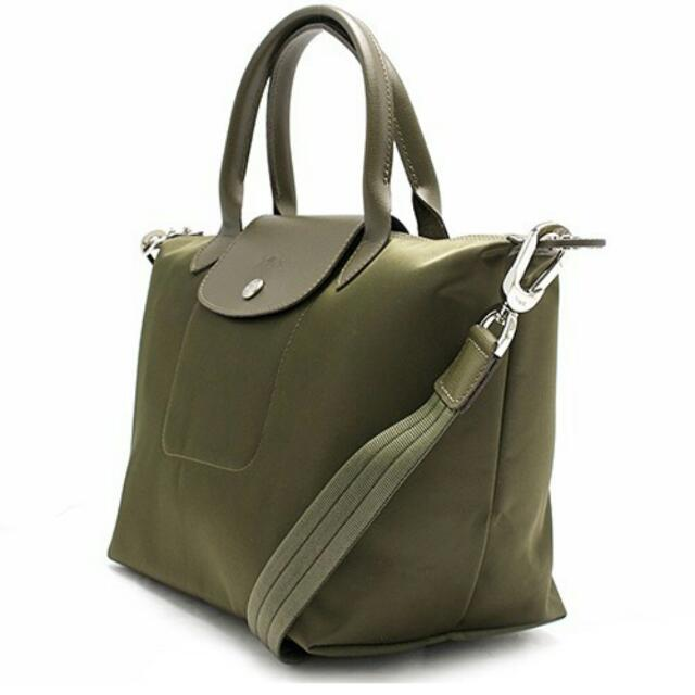 cf4c3155c1 Longchamp Neo Olive Green (authentic), Women's Fashion, Bags & Wallets on  Carousell