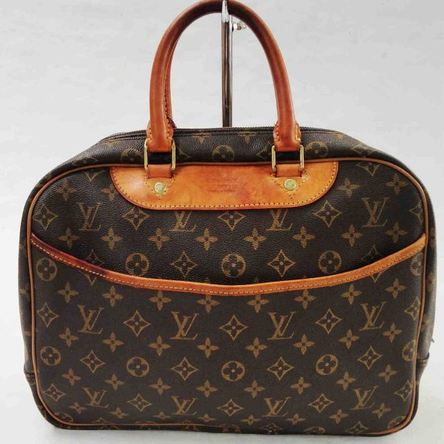 f51df2dc2 Louis Vuitton Deauville Monogram Canvass Satchel Hand Bag Serial No ...
