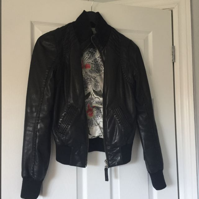 Mackage For Aritzia Leather Jacket XS