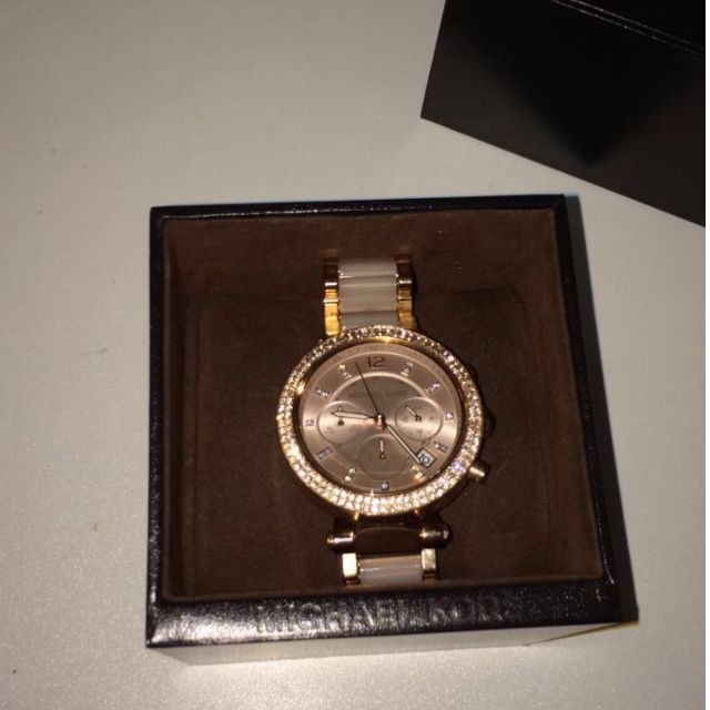 Michael Kros Rose Gold Watch
