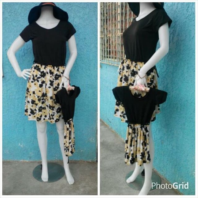 Mom And Daughter Dress Terno