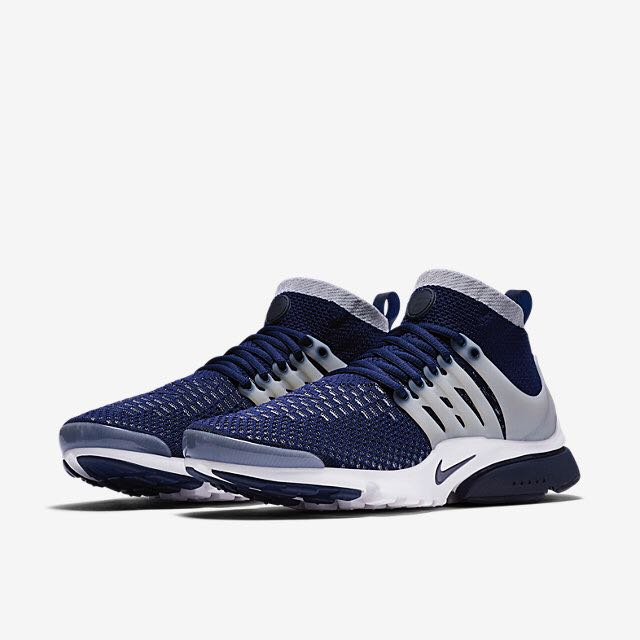 7e03736dc47f Nike Air Presto Ultra Flyknit (Men) - College Navy Wolf Grey White ...