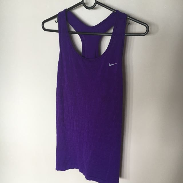Nike Dri-fit Purple Shirt