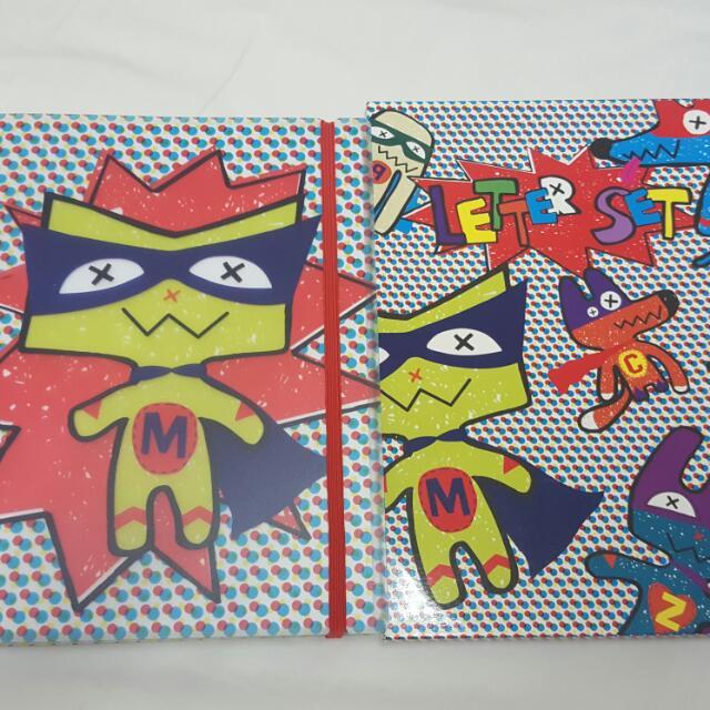 Notebook & Letter Set