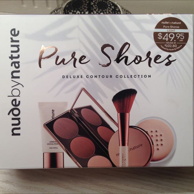 Nude By Nature Pure Shores Deluxe Contour Collection LIGHT