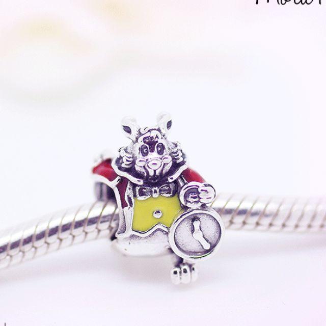 PANDORA Disney Rabbit愛麗絲夢遊仙境時間兔子