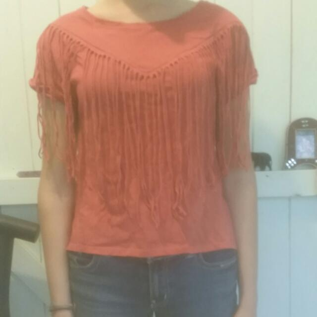 Peach Colour top