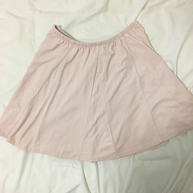 Pink Brandy Melville Skirt
