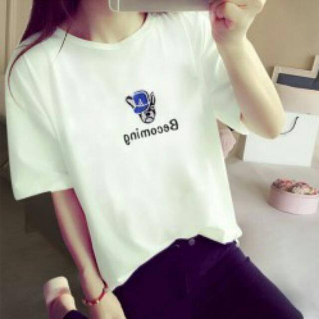 Print White Shirt (PT-92***)