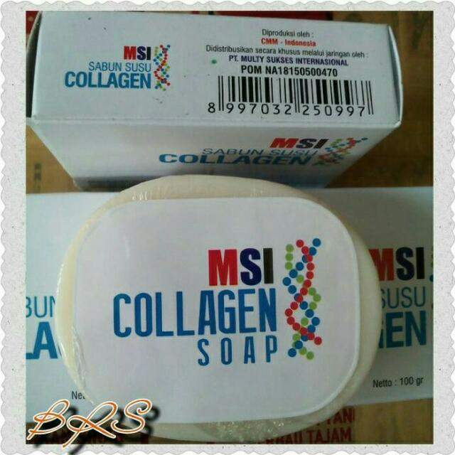 Sabun Collagen Msi Bpom